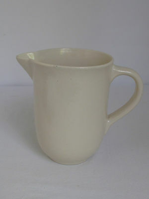 Vintage Catalina Island White Pottery Pitcher