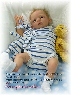 REBORN DOLL KIT, MAX BY LINDE SCHERER, SOFT LIGHT SKIN VINYL DOLL KIT
