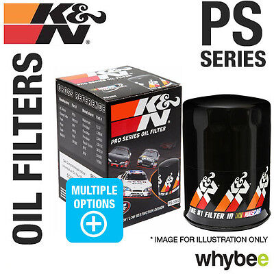 New! K&N Oil Filters 'Ps' Pro-Series High Flow Performance Canister Filters