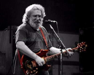 Jerry Garcia, Grateful Dead 16x20 inch Poster Size Photo Live Concert 34