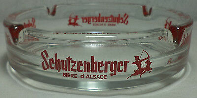 VHTF COLLECTIBLE SCHUTZENBERGER BEER GLASS ASHTRAY