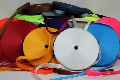 Polypropylene Webbing 10mts 25mm Sewing Horse rugs, bags, tents, canvas