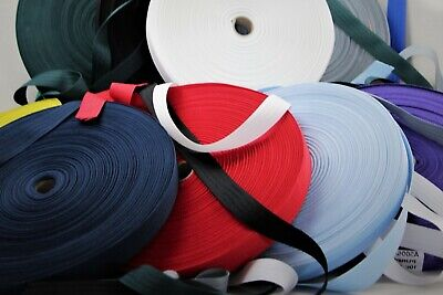 Polyester binding tape 25mm 10mts Sewing Horse rug binding, bags, tents, canvas