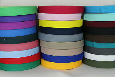 Polyester binding tape 36mm 10mts Sewing Horse rug binding, bags, tents, canvas