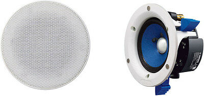 Yamaha Ns-Ic600 6'' In-Ceiling Speakers (Pr) White 110W Nsic600 Rrp $449