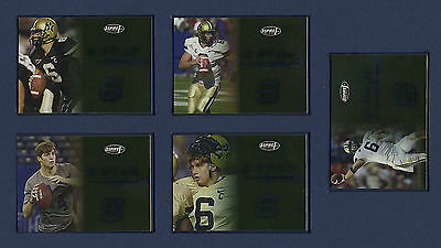 2006 SAGE ASPIRE 5 STAR INSERT SET: ALL 25 ROOKIE CARDS R.BUSH,J.CUTLER,YOUNG..