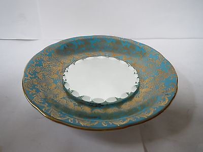 AYNSLEY MIRRORED SAUCER   C869