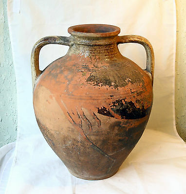 ANTIQUE MEDIEVAL GREEK / BIZANTINE Large Pottery Ceramic TRANSPORT AMPHORA