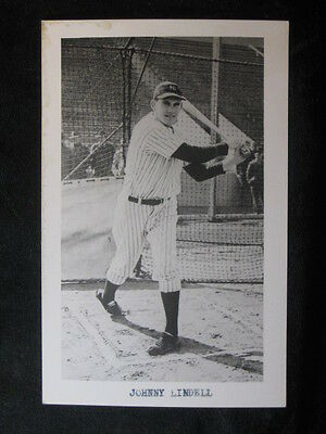 Johnny Lindell New York Yankees Vintage B/W RPPC
