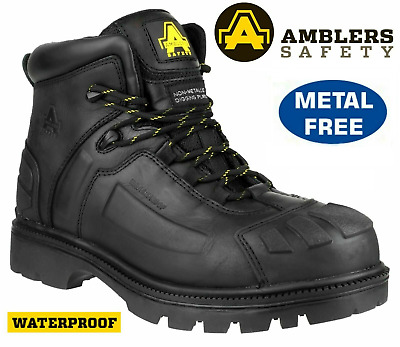 Mens Dickies Waterproof Thinsulate Safety Work Boots Shoes Hiker Steel Toe Cap