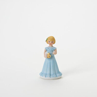 Growing Up Girl Age  6   Blonde Figurine