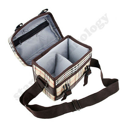 Fashion  Digital SLR DSLR Lens Camera Bag Carry Case For Nikon Canon Sony Cover