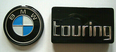 Set Original BMW Systemkoffer Emblem 41mm + touring R850R R1100R R1150R Ro badge