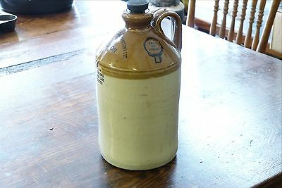 Antique Stoneware Jug #8 Accrington Stantons Beverages Ltd.