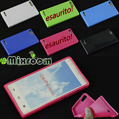 COVER CUSTODIA CASE MORBIDA IN SILICONE TPU PER HUAWEI ASCEND G6 P6 MINI