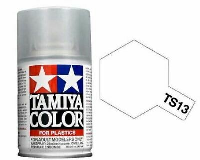 TAMIYA COLORI SPRAY 100 ml PER PLASTICA TS13 CLEAR FOR PLASTIC BOMBOLETTA