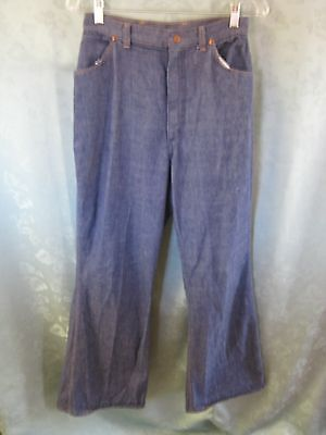 "Vintage Wrangler High Waist Bellbottom Jeans Size 28"" Waist X 32"" Inseam"