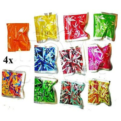 4 x  marijuana leaf Design Anti-Scan Anti-Smell Zip Lock Resealable Plastic Bag