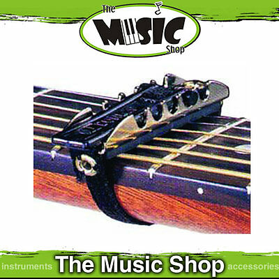 New Jim Dunlop J11CD Advanced Strap Style Guitar Capo - Curved