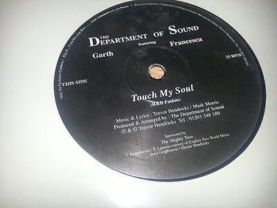 THE DEPARTMENT OF SOUND ft GARTH FRANCESCA - TOUCH MY SOUL