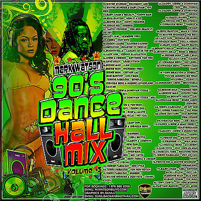 Reggae Dancehall 90's Mix Cd Vol 3