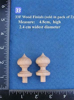 *Pair of Clock / furniture Finials Style (33F)