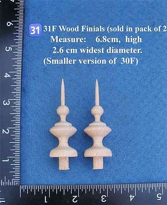 *Pair of Clock / furniture Finials Style (31F)