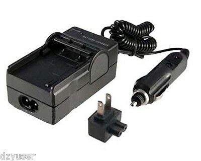NB-6L Battery Charger for CANON PowerShot SD1200 SD1300 IS Digital Camera AC+DC