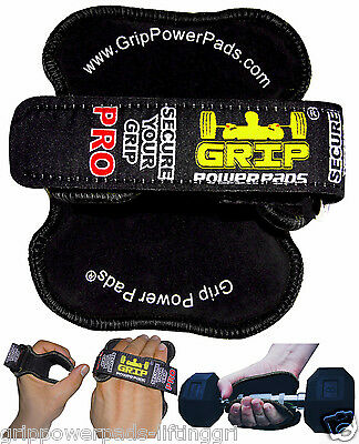 Best Lifting Grips Straps Weight Lifting Grip Pad Exercise Cross Training New