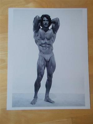 Mr Olympia Bodybuilder FRANK ZANE muscle bodybuilding 8 X 10 ABS photo