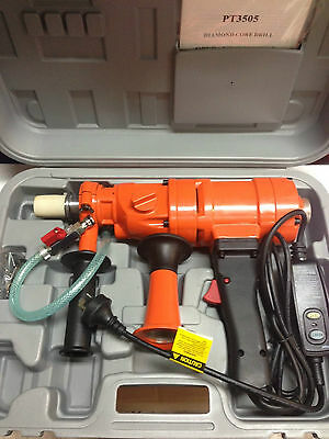 Millers Falls Orange 1500 watts Diamond Core Drill with carry case AUS MODEL