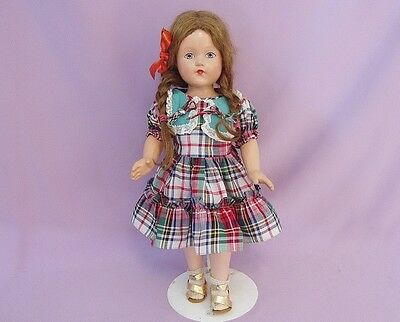"""18"""" Composition LITTLE LADY DOLL by EFFANBEE c1940"""