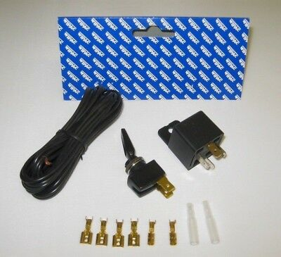Wipac 12 volt  Basic Spot Lamp Wiring kit, switch, relay, terminals, wire etc