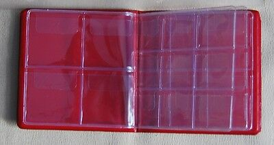 POCKET SIZE COIN ALBUMS - Capacity from 72 to 16 coins - MINI ALBUMS