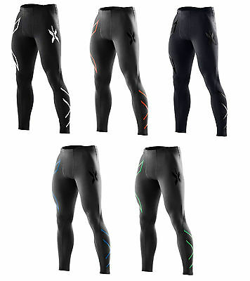 New 2XU Compression Tights Men Running Pants Exercise Tight  ALL COLORS & SIZES
