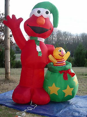 Giant 8 Foot Airblown Inflatable Lighted Grinch Christmas