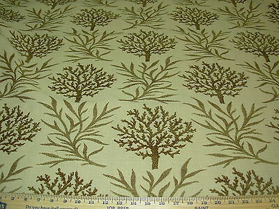 Bty Swavelle Mill Creek Coral Cove Pt Chenille Upholstery Fabric