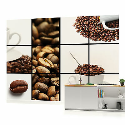 WALL MURAL PHOTO WALLPAPER (112PP) Coffee Kitchen Cafe