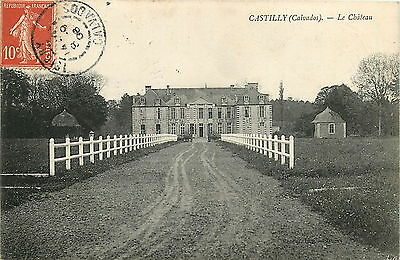 14* CASTILLY chateau