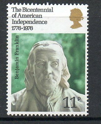 GB 1976 American revolution bicentenary unmounted mint stamp