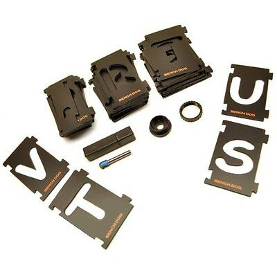43pc LETTER STENCIL SIGN KIT SIGNMAKERS LETTERING TEMPLATE ROUTER (256362)