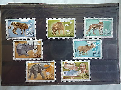 - HONGRIE - FAUNE - animaux sauvages  - 1981  -