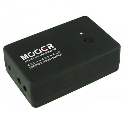 Mooer MP POWER Rechargable Micro Series Portable Power Supply with Daisy Chain