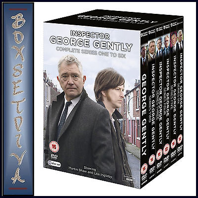 George Gently - Complete Series 1 2 3 4 5 & 6 *brand New Dvd Boxset**