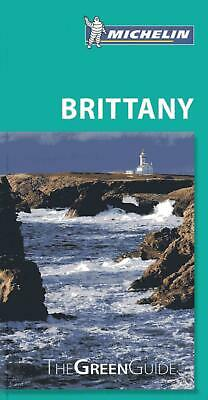 Brittany by Michelin (English) Paperback Book Free Shipping!