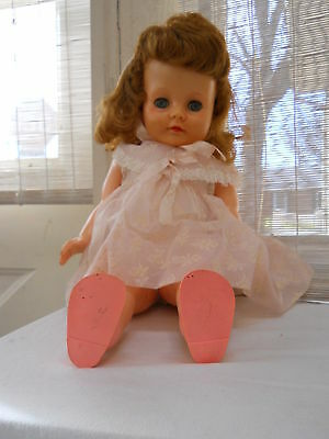 VTG Ideal Rubber DOLL Betsy Wetsy VP 20-2 VS 20 DARLING CLOTHES & Shoes