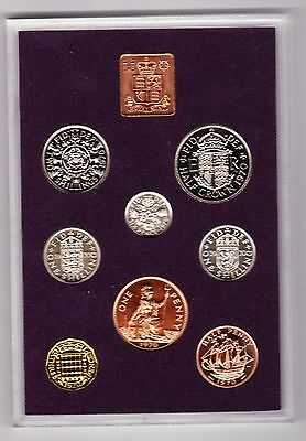 Bright 1970 Standard Proof Set Of 8 Coins