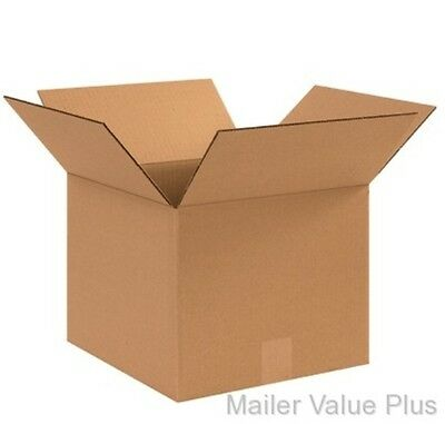 25 12 x 12 x 10 Shipping Boxes Packing Moving Cartons Cardboard Mailing Box