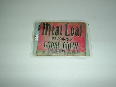 All Access Backstage Pass MEATLOAF Dragon Sound Local Crew 1993, 94 & 95