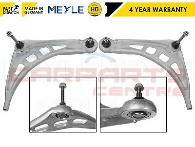 For Bmw E46 3 Series Front Lower Wishbones Arms Ball Joints Pair Meyle Hd